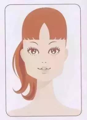 【什麼臉就剪什麼髮型和劉海】,千萬別讓理髮師亂剪哦~