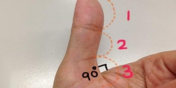 你身邊有「大拇指與手掌可成90度」的人嗎?以後看到千萬別跟他們做朋友呀!