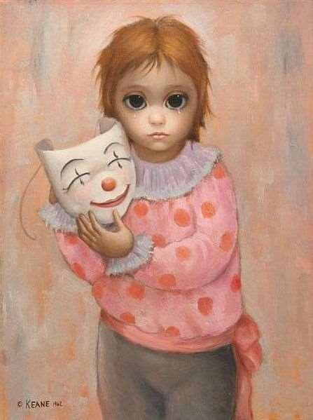 「big eyes paintings」的圖片搜尋結果