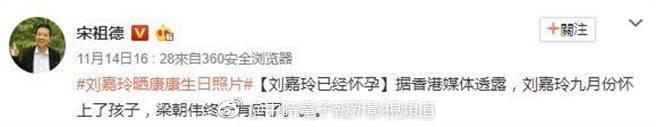 52歲劉嘉玲懷孕兩個月?忘記當年傷痛,天王梁朝偉終於有後了!