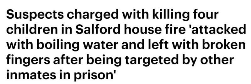 殘忍放火燒死一家人,法庭上全程微笑毫無悔意,結果進了監獄後,他們就傻眼了……