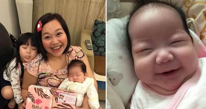 43歲鍾欣淩的二寶「夜夜哭鬧不停」,友人私授「妙招」,寶寶竟然一覺到天亮!