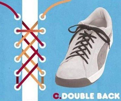 15种「每个会穿鞋子的人都必学」的超帅气花式鞋带绑法,光靠鞋带就