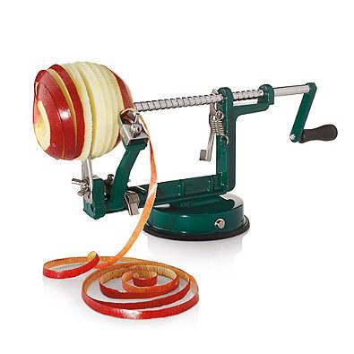 An apple peeler / core-er / slicer that will make pies a breeze.