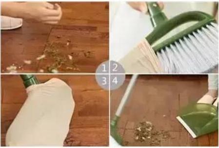 掃帚上總是容易粘上各種毛髮,難看又不衛生!我家老保姆教了幾招,每一招都簡單又實用!