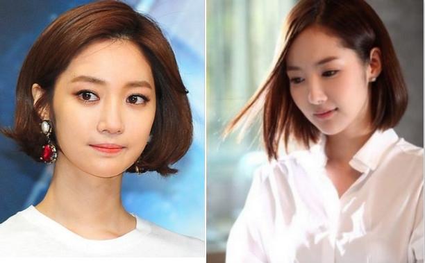 韩国短发发型图片