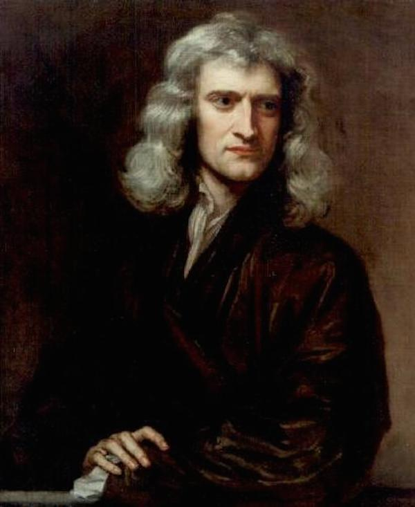 Sir Isaac Newton Newton has been described as an extremely private man and was a deeply introverted character.