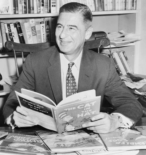 Dr. Seuss Dr. Seuss was afraid of meeting the kids who read his books because he didn't want them to be disappointed by his quiet personality.