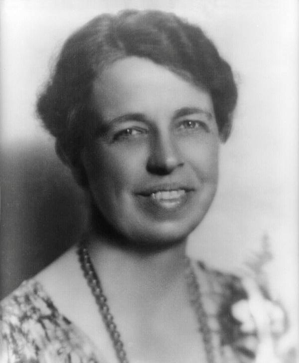 Eleanor Roosevelt The wife of FDR was a shy and withdrawn women but that didn't stop her from contributing greatly to human rights.