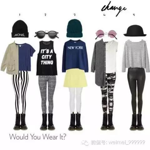 女人10個穿衣技巧,再胖也能穿出好身材!