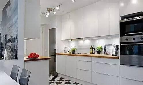 如何給開放式廚房戒煙?