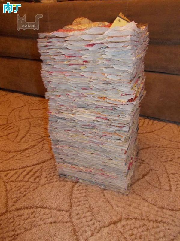 簡易手工拼布被子拼布製作教程及圖譜。你學會了嗎?