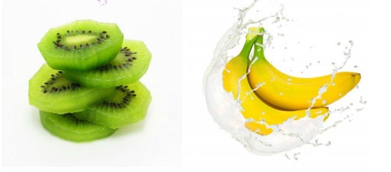 快速排宿便的新秘方誕生!「奇異果」跟「香蕉」一起吃!再加「這個東西」吃完立馬有感覺~