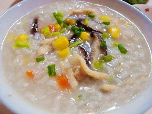香菇雞肉粥的做法 ~ 自製鮮嫩雞肉粥