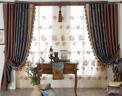 家居裝飾 布藝窗簾選購搭配技巧