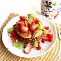減肥食譜——無面粉無油無糖健康Pancake