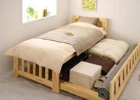 學會這幾種收納方式 臥室變大一半不是夢