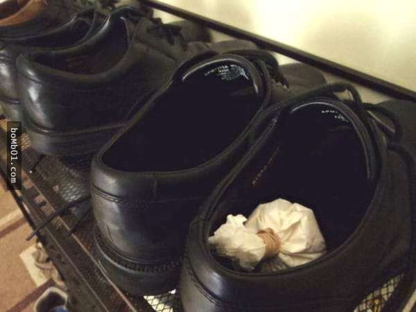 老婆把「這張紙」放入家人的臭鞋中,隔天發生驚人變化...全家人都佩服!