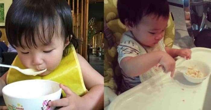 小S曾公開說自己誓不做〝餵飯媽〞,她的小孩在兩歲前都學會自己吃飯!專家:寶寶兩歲不能自己吃飯全都是家長的錯?!