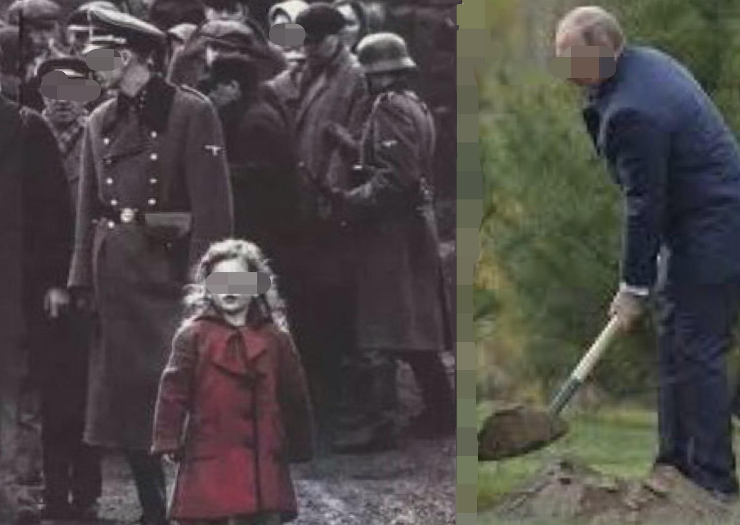 请把我埋得浅一点题目答案当一个纳粹士兵伸手要将小女孩推进深坑中