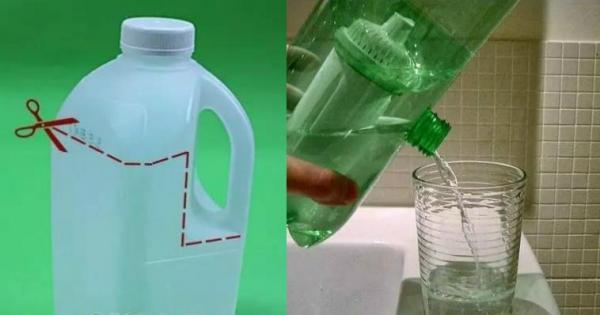 从规格不一的饮料瓶,到洗衣液瓶子,金龙鱼的油桶子—&mdash