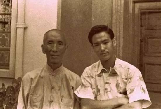 李小龙的师傅叶问什么时候去世的?图片
