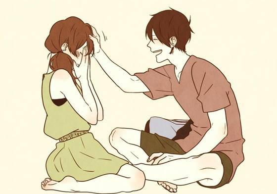 恋爱中最不理智的几种行为。