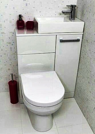 sink, toilet, and white 圖片