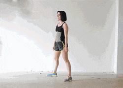 怎麼在有氧運動和無氧運動的基礎上減大腿根部的脂肪?