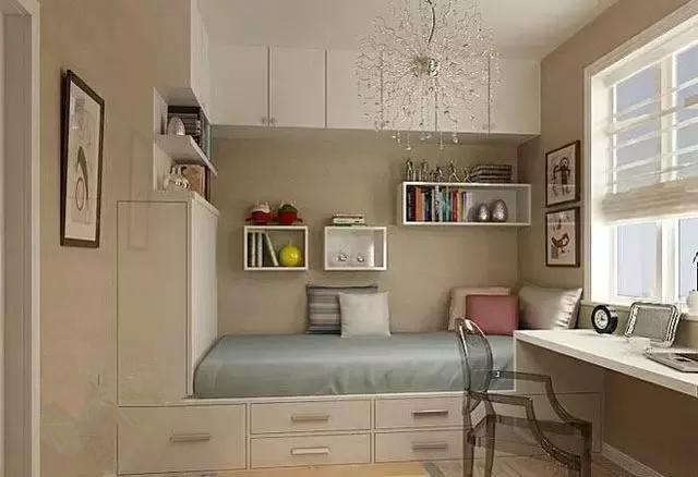 柜中床的设计图纸