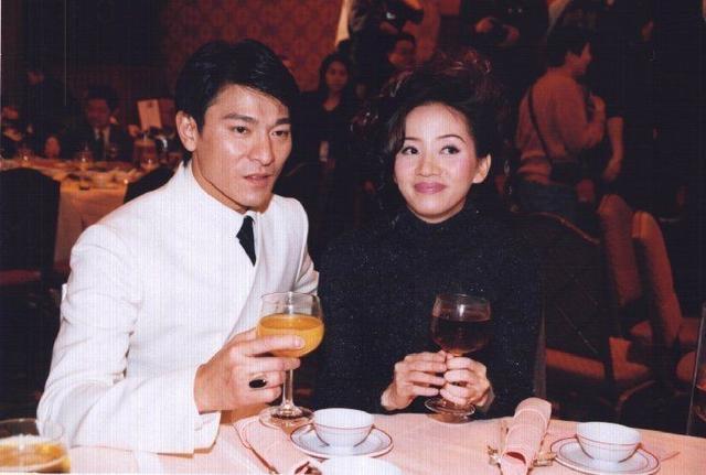 劉德華、梅艷芳,超過愛情的感情,29張珍貴合影,沒有劇照