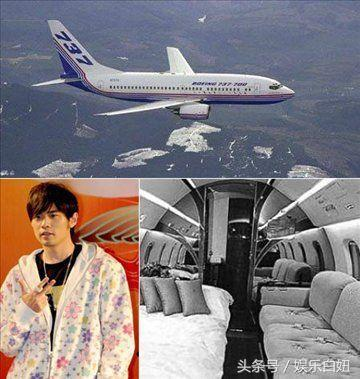 十位明星的私人飛機大比拼 ! 成龍排第六名 , 劉德華排第三 , 第一名竟然是