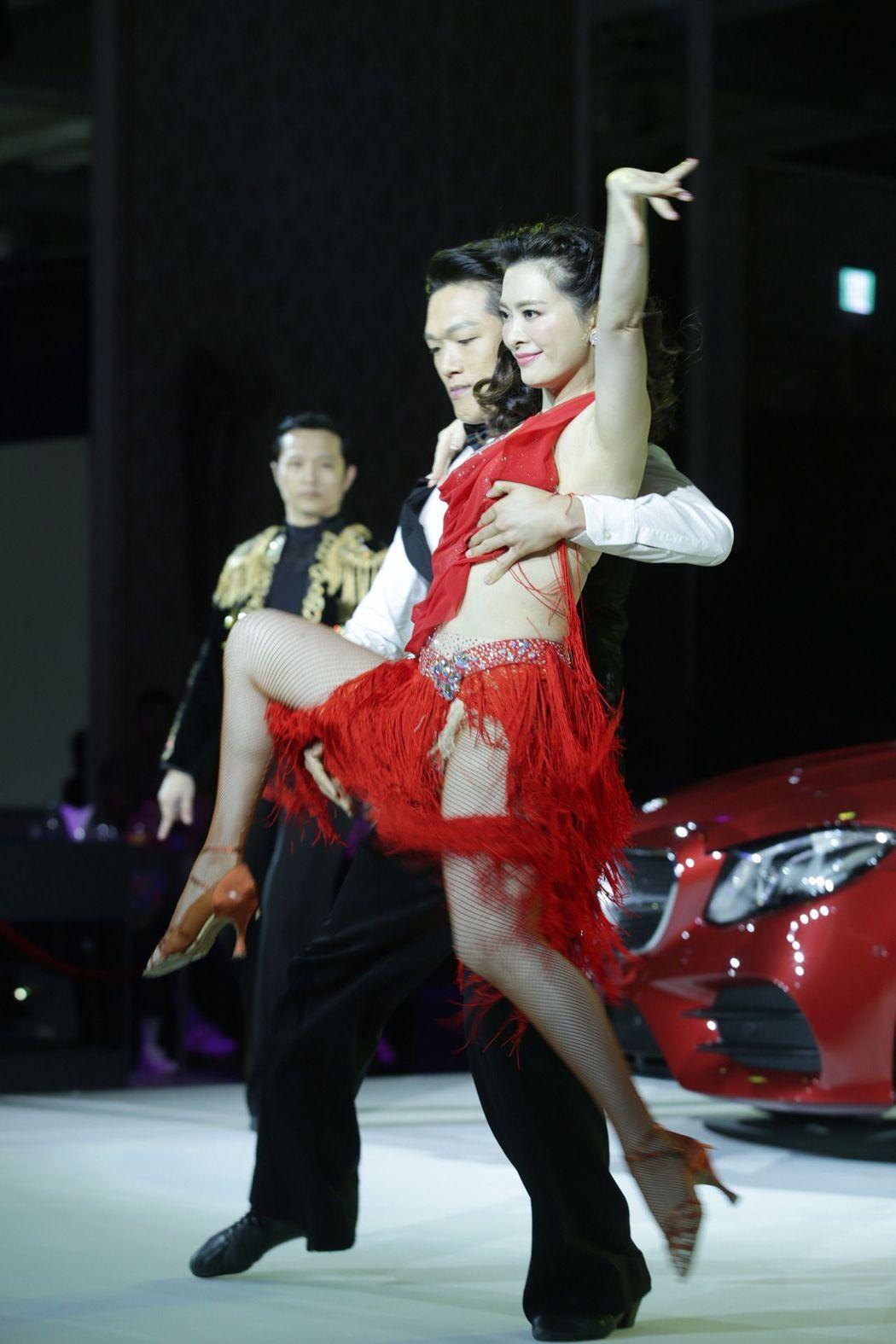 劉真出席新車上市活動。記者陳瑞源/攝影