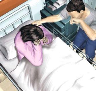 老婆發現他有小3後激動的哭暈過去, 女兒說了「一句話」, 他瞬間害怕的整晚沒睡...