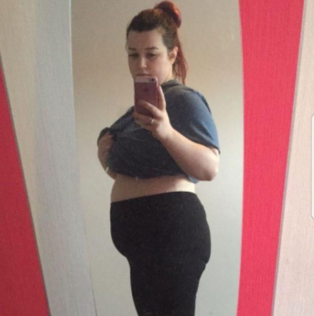 她生產後體重爆增至111公斤,最後「每天喝兩杯綠茶」現在朋友都認不出了!