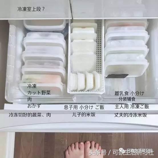 中國人把蔬菜放到冰箱的冷藏室,日本人卻把蔬菜放在冰箱的冷凍櫃,既健康又省時