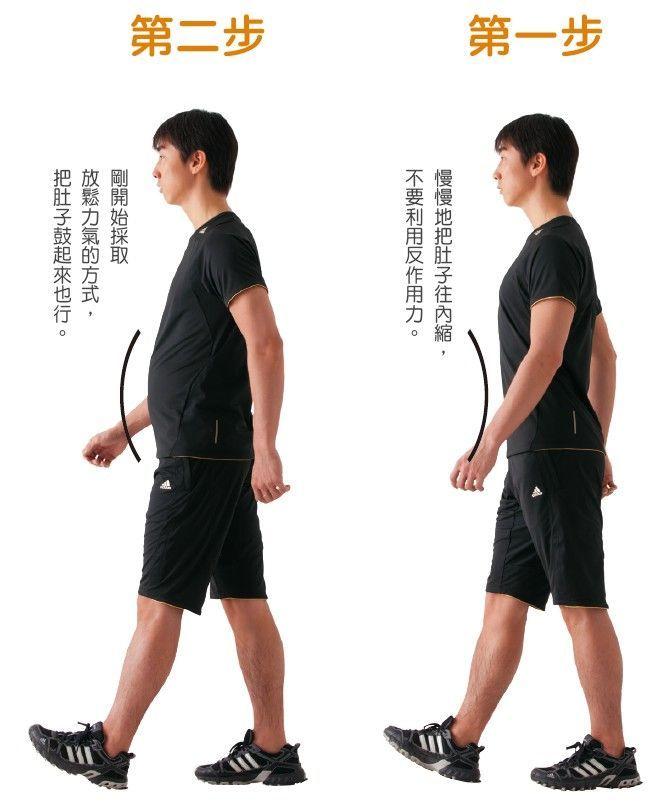 減肚腩 走路