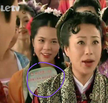 影視片讓人始料不及的穿幫鏡頭,趙麗穎露了什麼,太顯眼了吧!!