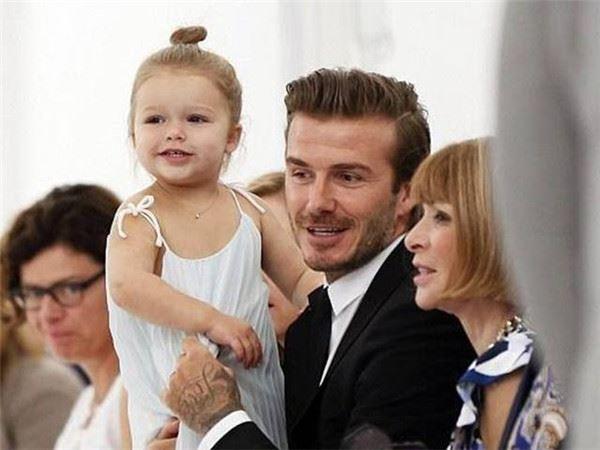 貝克漢的女兒長大啦!小時候總是被調侃胖得像顆球,如今6歲美得像長髮公主!