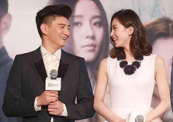 劉詩詩結婚三年終於懷上,吳奇隆緊張護妻,肚子大到藏不住!