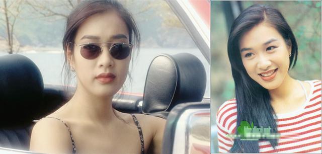 46歲鍾麗緹近照, 大女兒都18歲了還在鏡頭前嘟嘴賣萌,網友注意力都在第一張!