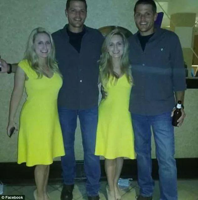 雙胞胎兄弟愛上了一對雙胞胎姐妹,決定一起娶回家,一看到他們的「親密合照」,網友全部歪了...