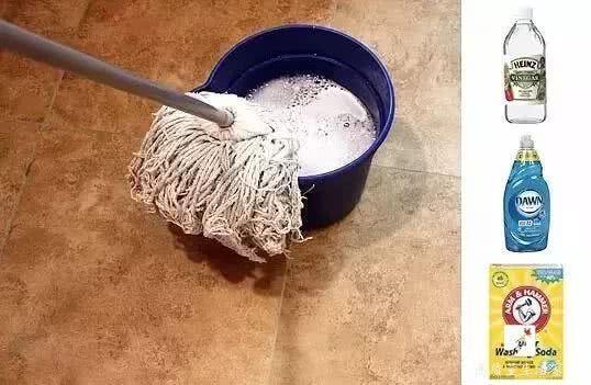 每天拖地還是很髒,這麼做地板乾淨無灰塵