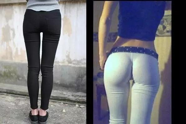 女人出門,千萬別「這樣穿褲子」,丑爆一整條街了!