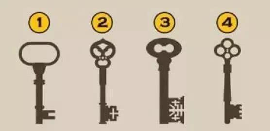 四把鑰匙選擇一把,測近期你有啥大事降臨!