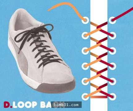 15種「超吸睛又不無聊」的鞋帶綁法,保證一定讓你成為眾人的目光焦點喔!