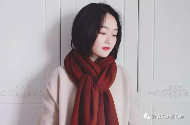 《圍巾各種圍法》天氣變冷了!圍巾就要這樣戴,減齡又漂亮!