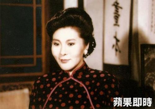 李麗鳳在瓊瑤電視劇《三朵花》中飾演章佩如。資料照片