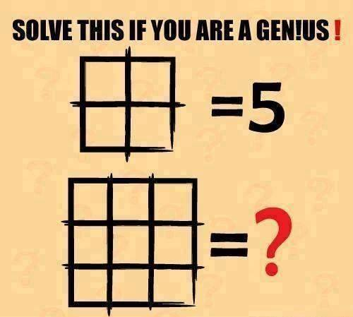 只挪動2根火柴棒,你最大能拼出來的數字是什麼呢?據說只有絕頂聰明的人才能做對