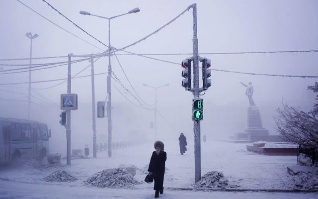 世界最寒冷的村莊:最低溫達-71.2℃,活魚秒變石頭,水卻不會結冰!
